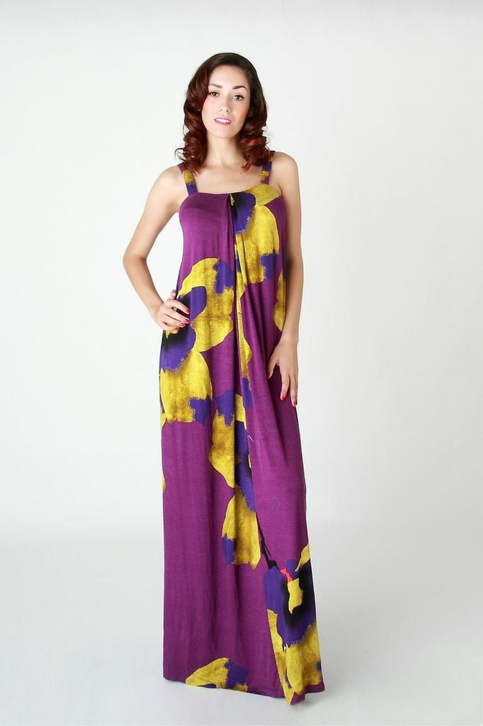 Don't let the stylish look of this Annee Matthew Marne maxi dress ($139) fool you — it comes with a hidden center opening for breastfeeding.