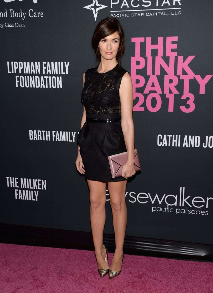 Actress Paz Vega attended The Pink Party event in LA.