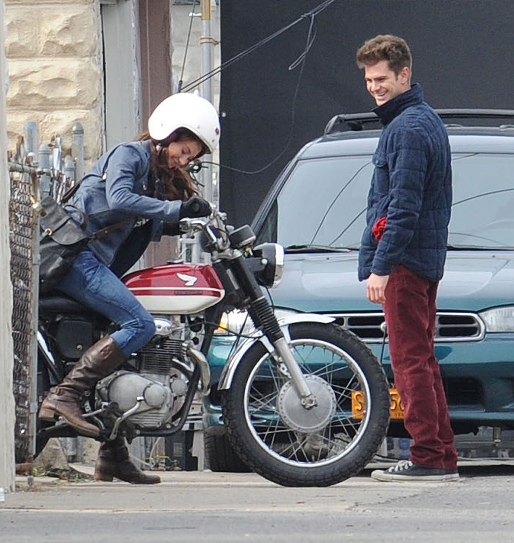 Andrew Garfield and Shailene Woodley got to work on The ...