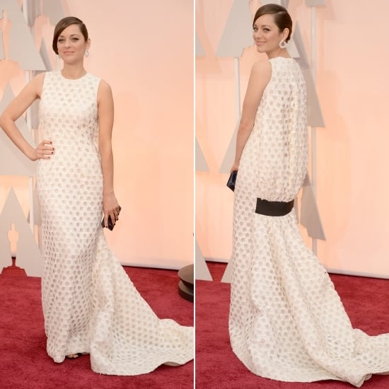 Was the Back of Marion Cotillard's Dior Dress Too Much?