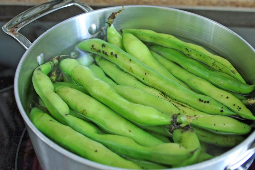Blanch the Beans
