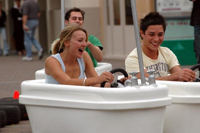 Bathtub Racer Cleans Competition?