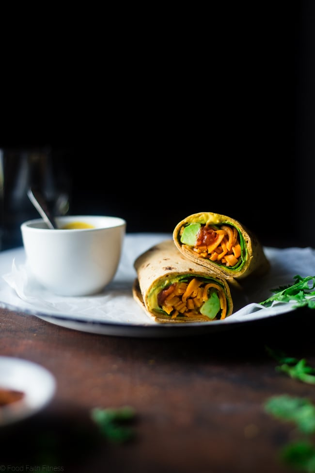 Mexican Sweet Potato Noodles Wrap