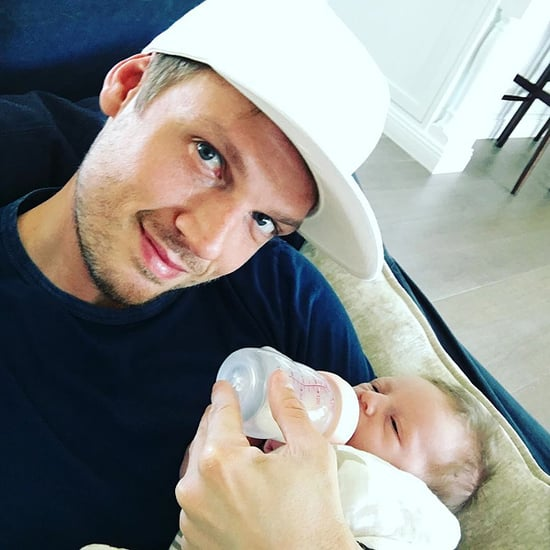 Nick Carter Shares Sweet Father-Son Photo: 'I Don't Mind Changing Diapers'