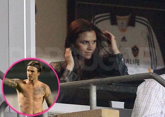 Shirtless David Beckham Has Victoria, His Boys, and a New Puppy to Help Celebrate His Galaxy Win