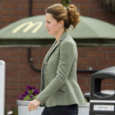 Kate Middleton Stops at McDonald's | Pictures