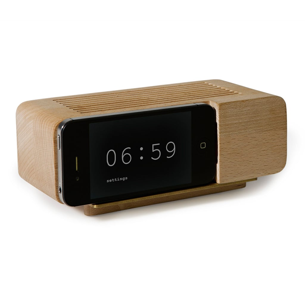 Out with the old, in with the new. We bet she'll get a kick of out this iPhone alarm dock ($40) that's actually really useful.