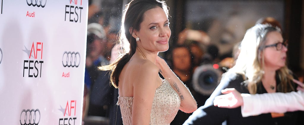 Angelina Jolie's Versace Gown Looked Tailor-Made For Her —Because It Was