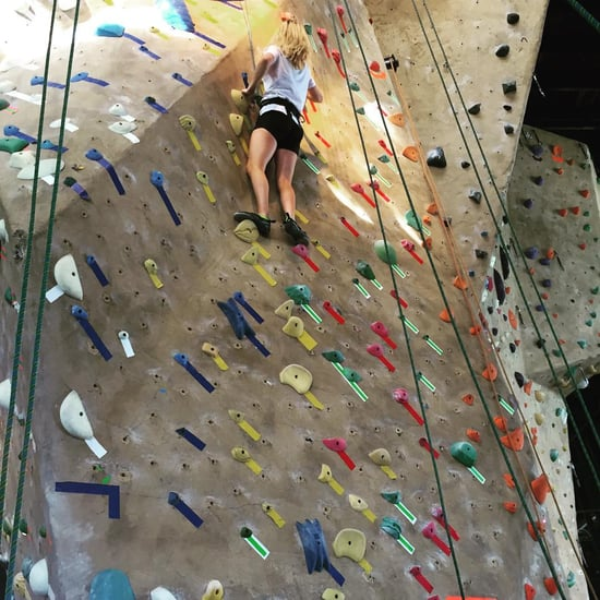 Ellie Goulding Rock Climbing Instagram Picture