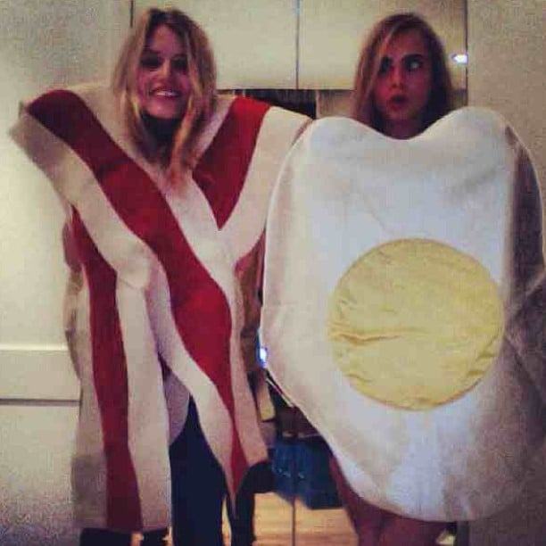 Can we get a side of home fries, Georgia May Jagger? Source: Instagram user caradelevingne