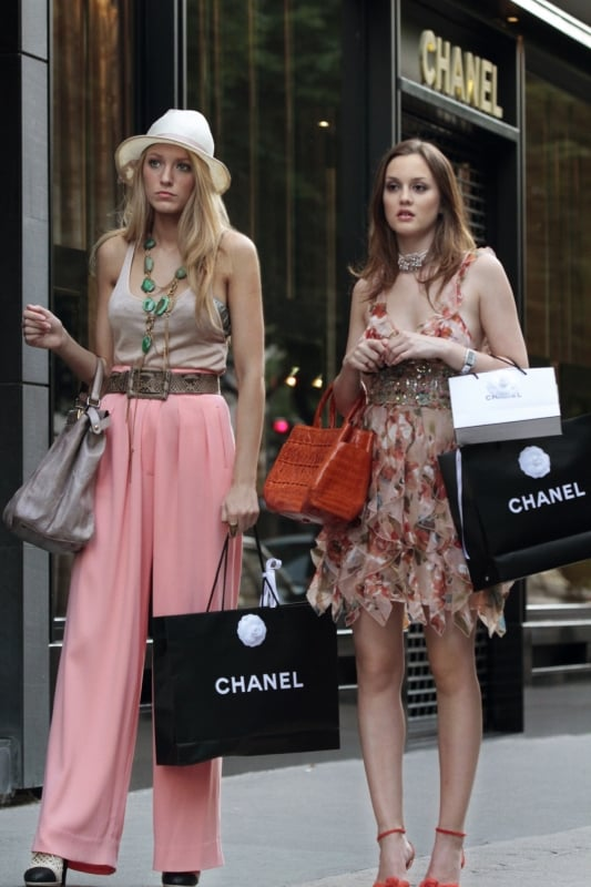 Serena and Blair From Gossip Girl