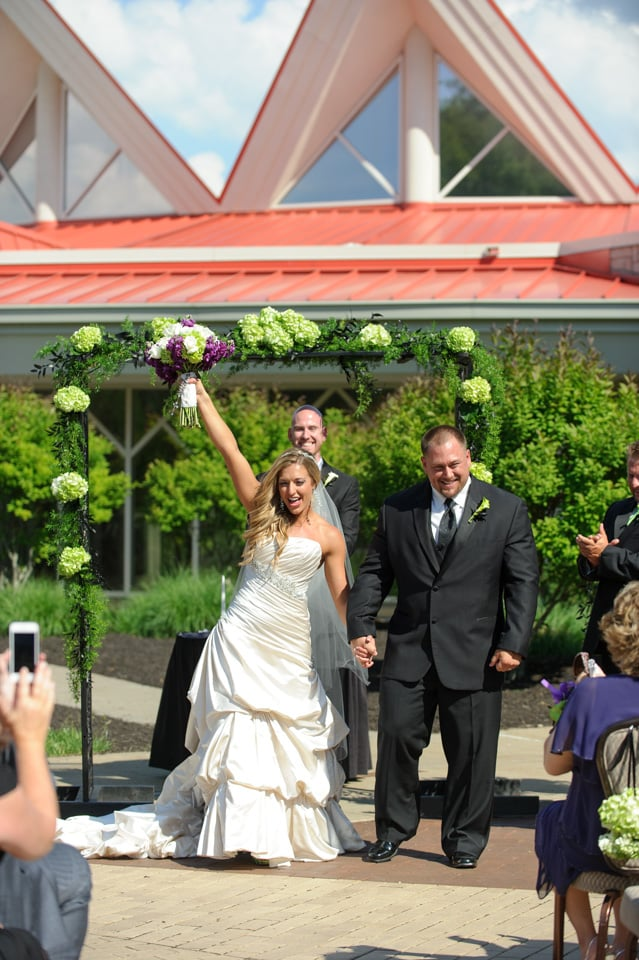 A big congratulations to the happy and fit couple!