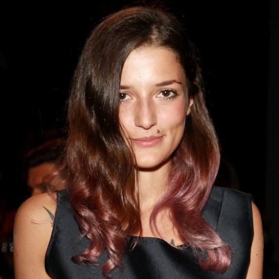 """""""I love Eleonora Carisi – she's like the Olivia Palermo of Italy – and I love her hair. I came late to the two-tone hair trend, but I'm still having a great old time with it. After doing burgundy ends, I'm gonna make like Eleonora now and go for a pink/purple tone."""" — Gen, associate editor"""