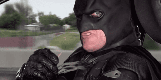Batman Is The Worst Partner Ever During Police Ride-Along
