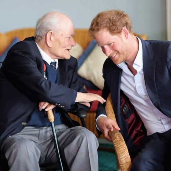Prince Harry at Veterans Reception June 2016