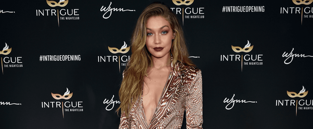Naturally, Gigi Hadid Saved Her Sexiest Birthday Look For Sin City