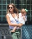 Jessica Alba held on to her daughter Haven Warren.