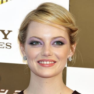 Emma Stone's Victory Roll Updo