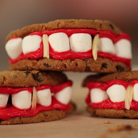 Vampire Teeth Cookies | Video