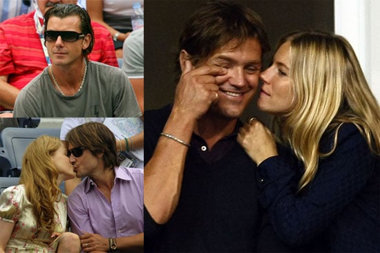 Photos of Nicole Kidman, Keith Urban, Gavin Rossdale, Sienna Miller, Anna Wintour, And George Barker at the US Open