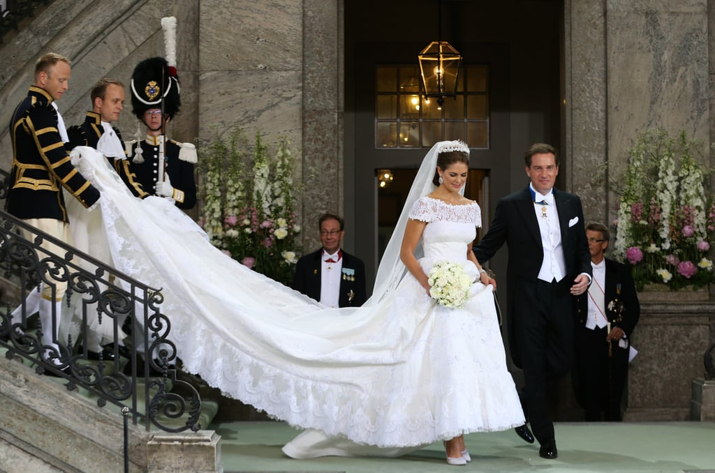 Princess Madeleine of Sweden married Christopher O'Neill.