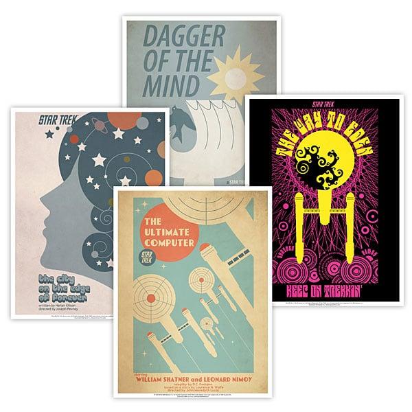 Retro Episode Posters