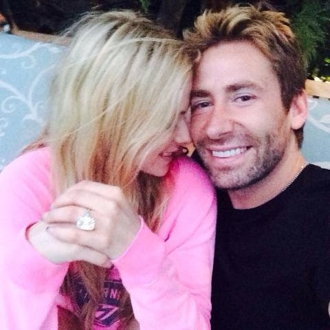 Avril Lavigne Tweets Wedding Anniversary Ring | Picture