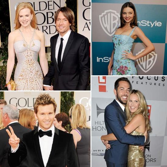 Nicole, Guy, Miranda and More Represent the Aussies at the Golden Globes