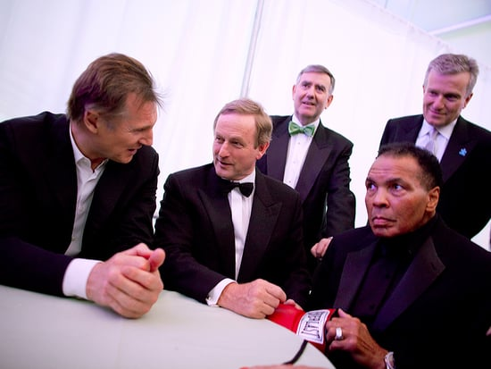 Liam Neeson Reflects on Meeting His Late 'Hero' Muhammad Ali: 'He Was a Giant of Humanity'