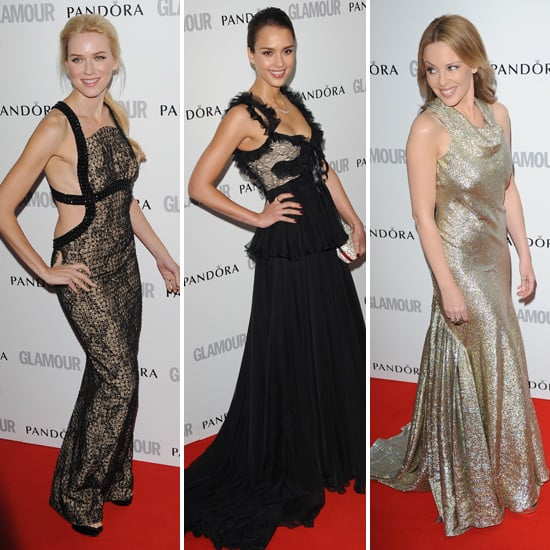 Naomi, Jessica, Kylie and More Step Out For the Glamour Women of the Year Awards in London