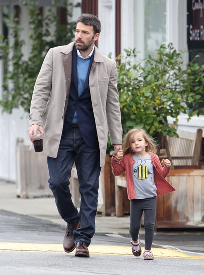 Ben Affleck and Seraphina Affleck were hand in hand for breakfast.