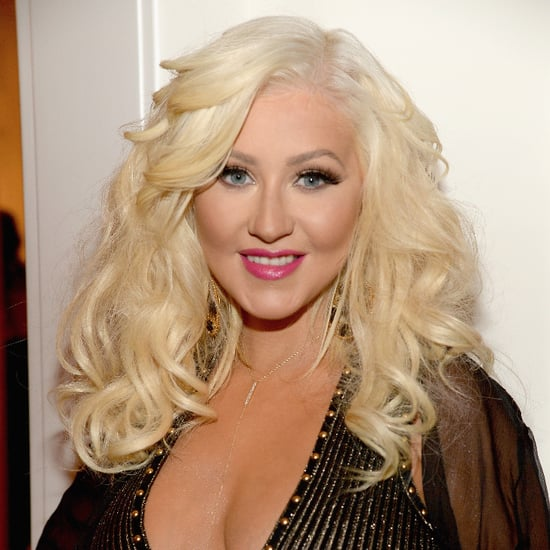Christina Aguilera's Daughter's First Birthday Picture
