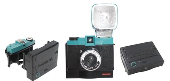 Diana Instant Back+ Attaches to Diana Lomography Camera and Creates Instant Photos Like Polaroid