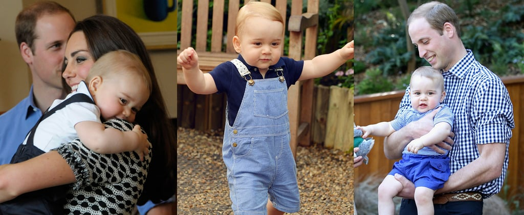 Royal Report: Don't Expect to See Much of Prince George in Year Two