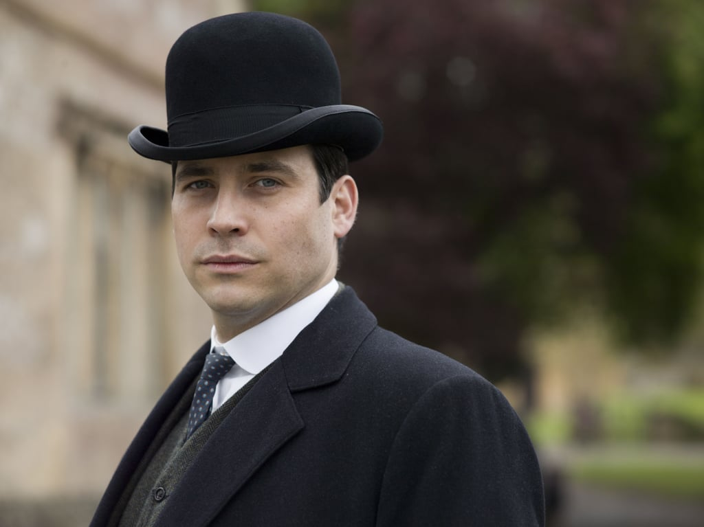 Thomas Barrow (Rob James-Collier) looks smart in a bowler hat.