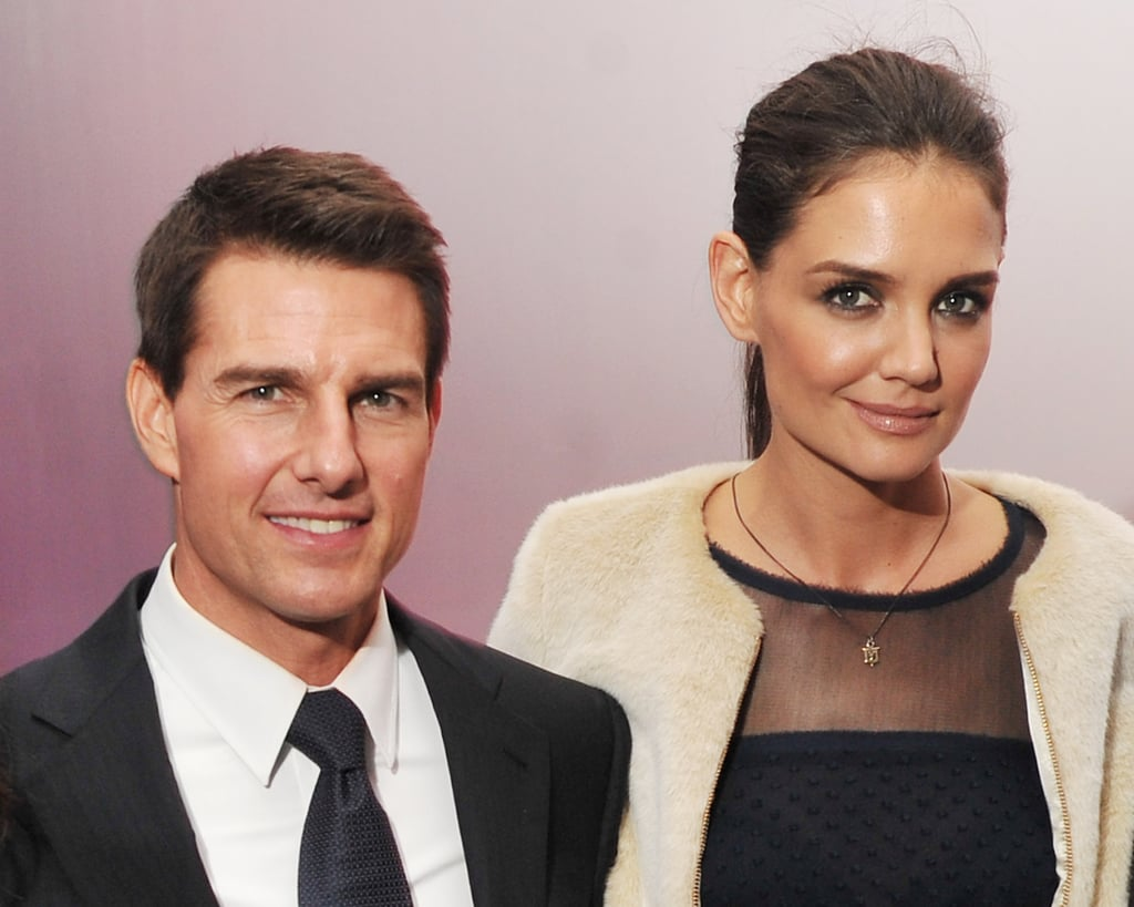 Tom Cruise and Katie Holmes swung by an afterparty at NYC's Meatball Shop.