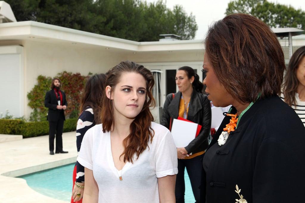 Kristen Stewart was out in LA.