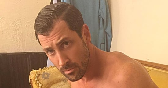 Maksim Chmerkovskiy Gets Ready for Daddyhood While Shirtless, in Tight Underwear, and We're Excited