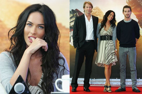 Photos of Shia LaBeouf and Megan Fox Promoting Transformers 2