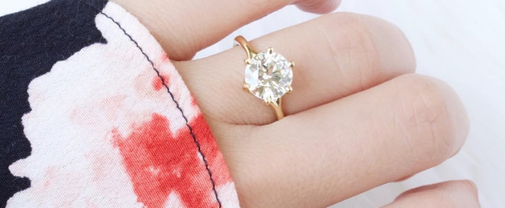 27 Real Girls Prove That Round-Cut Engagement Rings Are Downright Gorgeous