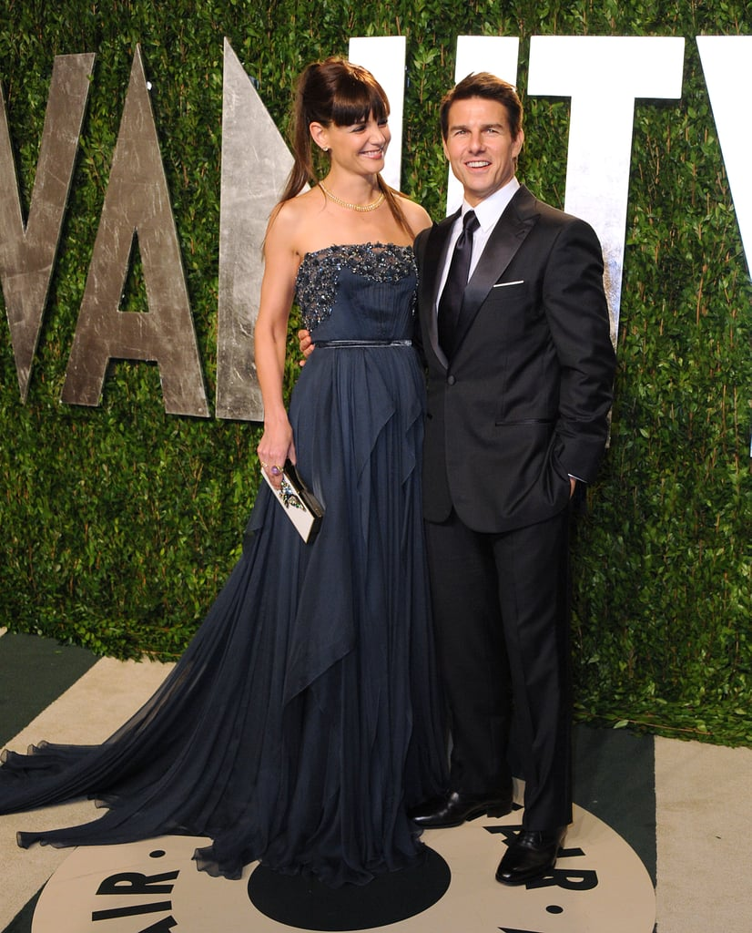 Katie Holmes and Tom Cruise's divorce was one of the most shocking splits of the year, but we like to remember the couple's happier times. Take, for instance, the couple's appearance at Vanity Fair's annual Oscars afterparty earlier this year. The pair looked happy and in love just a few short months before their divorce was announced to the world. — Maria Mercedes Lara, associate editor