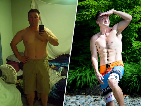 Former Marine Became Obese After Returning from Combat - And Now Has a Six-Pack After Incredible Weight Loss