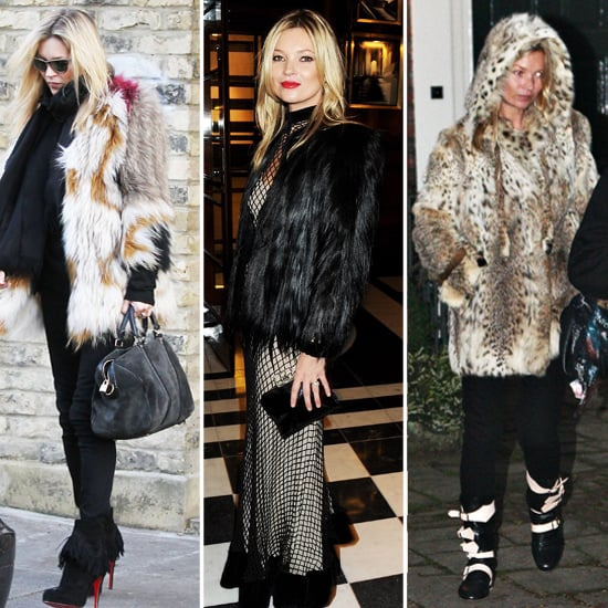 Which Fur Jacket Do You Like Best on Kate Moss?