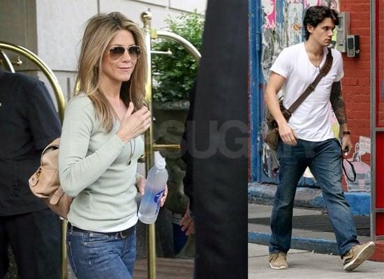 Jennifer Aniston And John Mayer's Hot Date At The Waverly Inn