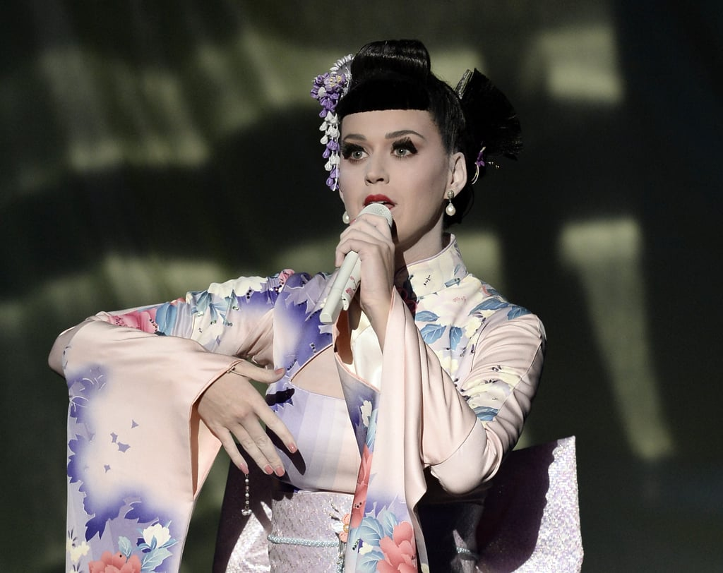 Katy Perry Kicks Off the American Music Awards