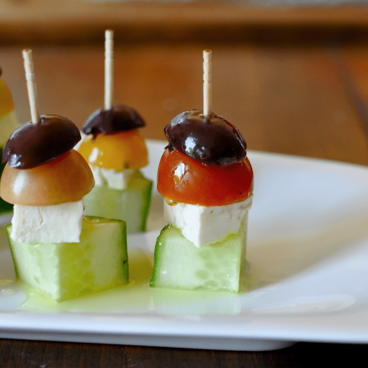 Easy Cheap Wedding Food: Easy Greek Salad Appetizer Recipe
