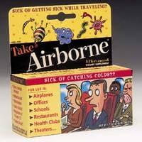 Airborne Settles False Advertising Law Suit