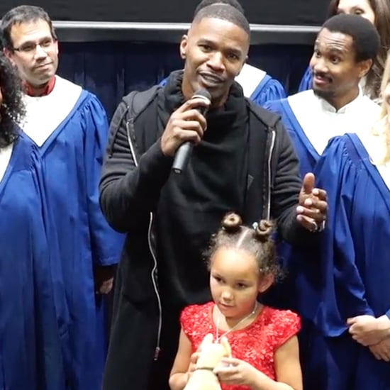 Jamie Foxx Teaches How to Pronounce Quvanzhane Wallis