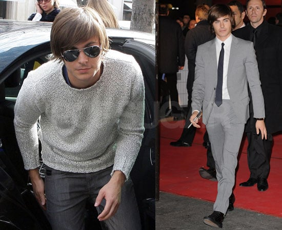 Photos of Zac Efron at a Photo Call For 17 Again in Paris