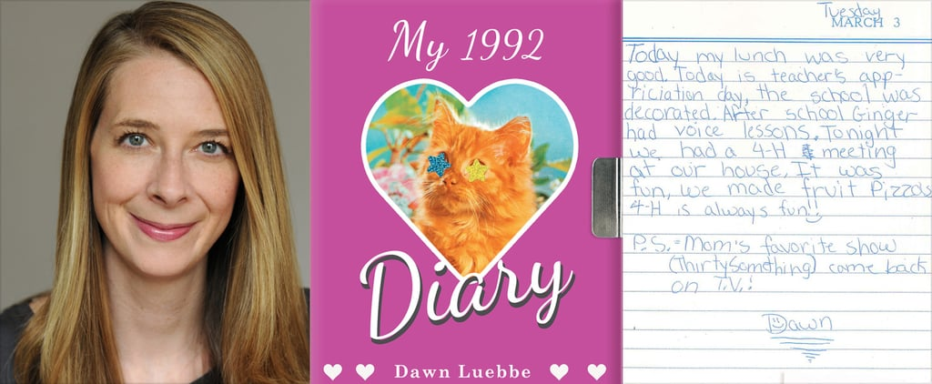 Get Ready to Relive Your Middle-School Years With My 1992 Diary